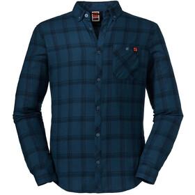 Schöffel Gateshead LS-skjorte Herrer, blå